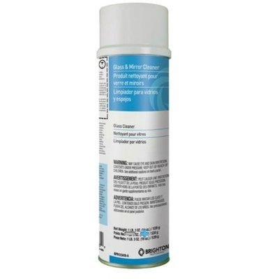 Brighton Professional Aerosol Glass & Mirror Cleaner, 19 oz. (Box of 12)