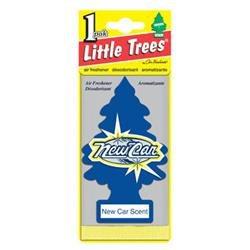 Car Freshener U1P-10189 Little Tree Air Fresheners, New Car Scent