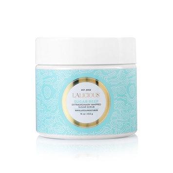 LaLicious Sugar Souffle Moisturizing Body Scrub, Sugar Reef, 16 oz