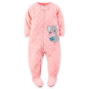 Carter's Fleece Zip-Up Sleep & Play