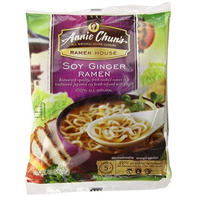 Annie Chun's Soy Ginger Ramen, 4.9-Ounce (Pack of 12)