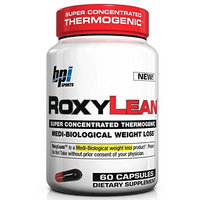 BPI Sports Roxylean 60 Caps, 1 month supply, 0.15-Pound