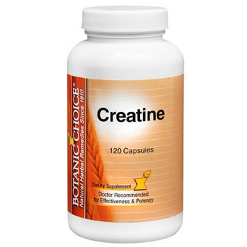 Botanic Choice Creatine Dietary Supplement Capsules