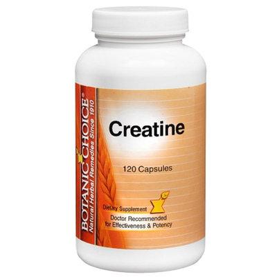 Botanic Choice Creatine Dietary Supplement Capsules