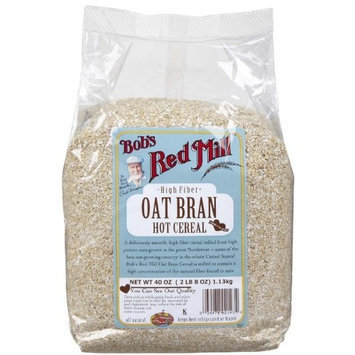 Bob's Red Mill Oat Bran Hot Cereal -- 40 oz