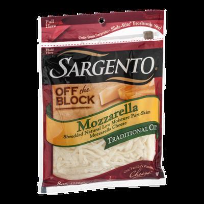 Sargento Mozzarella Cheese Shredded