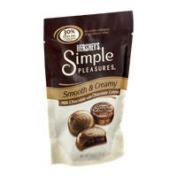 Hershey's Simple Pleasures Smooth & Creamy Milk Chocolate with Chocolate Creme