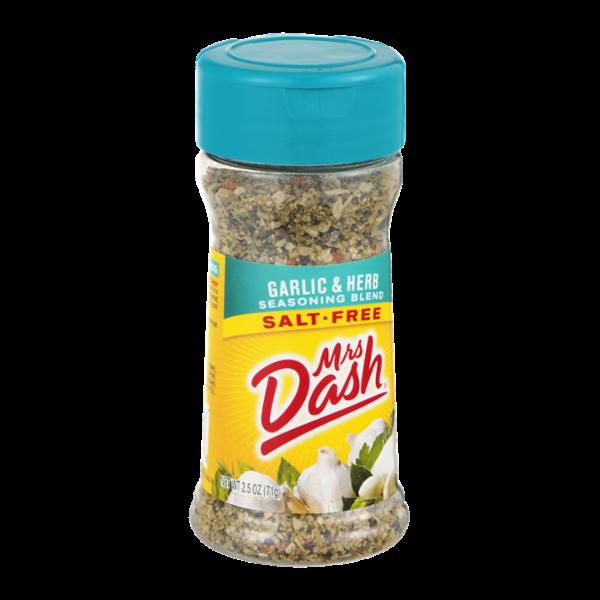 Mrs. Dash Salt-Free Seasoning Blend Garlic & Herb