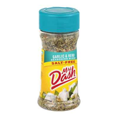 Mrs. Dash Salt-Free Seasoning Blend Garlic & Herb