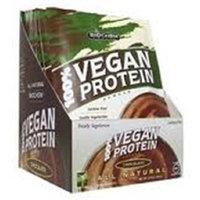 Bio Chem Biochem 100% Vegan Protein Powder, Chocolate, Single Serving Packs, 13.5 oz