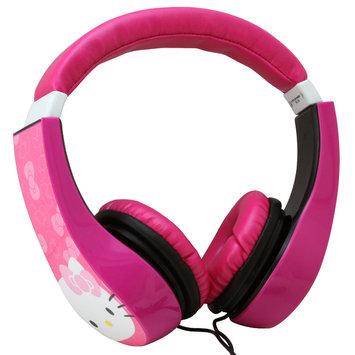 Sakar International Hello Kitty Kids Friendly Headphones