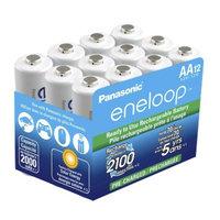 Panasonic Eneloop Rechargeable 12 AA Batteries (PBK3MCCA12SA)