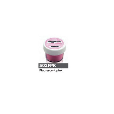 1/2 Ounce Flourescent Pink Acrylic Powder by Sassi for Beautiful Nails