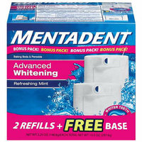 Mentadent Advanced Whitening Refreshing Mint Toothpaste