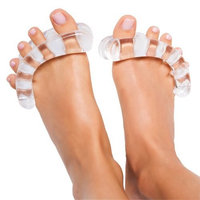 Original YogaToes - Small Clear: Toe Stretcher & Separator. Fight Bunions, Hammer Toes, Foot Pain & More!