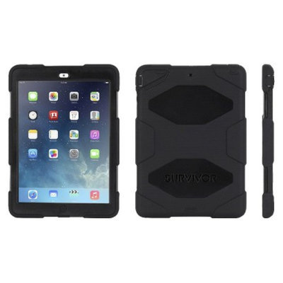 Griffin Survivor Hybrid Case for iPad Mini - Black (GB35918-2)