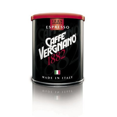 Caffe Vergnano Espresso, Fine Ground, 8.8-Ounce Cans (Pack of 2)