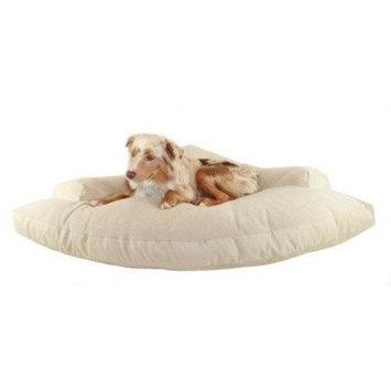 Hidden Valley Khaki and Fleece Corner Pet Bed, X-Large