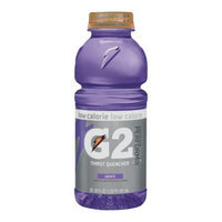 Gatorade G2 Grape Sports Drink 20 oz