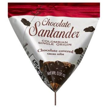 Santander 0.91 oz. Chocolate Colombian Single Origin - Cacao Nibs Case Of 16