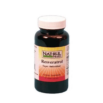 Natrul Health Resveratrol Super Antioxidant Capsules - 60 Ea