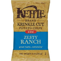 Kettle Krinkle Chips Zesty Ranch, 5-Ounce (Pack of 15)