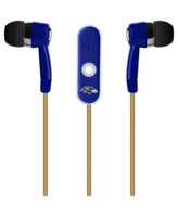 Baltimore Ravens Earbuds with Microphone