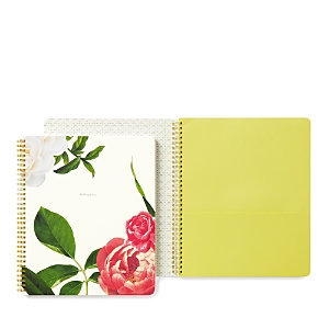 kate spade new york 'budding genius' spiral notebook