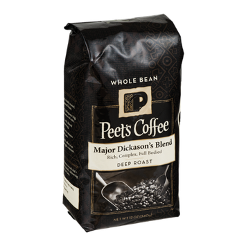 Peet's Coffee Major Dickason's Blend Deep Roast Whole Bean Coffee