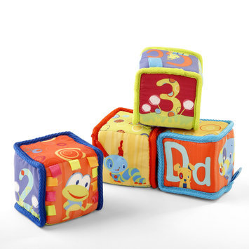 Bright Starts Grab & Stack Blocks - KIDS II, INC.