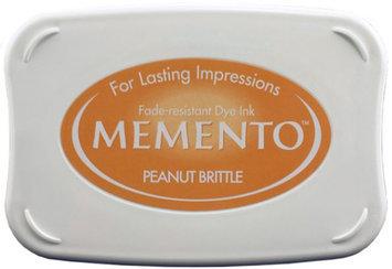 Tsukineko Inc. Memento Full Size Dye Inkpad-Peanut Brittle