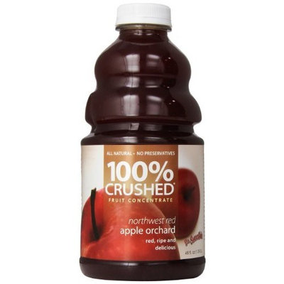 Dr. Smoothie Northwest Red Apple Orchard 100% Crushed Fruit Smoothie Bottles, 46-Ounce