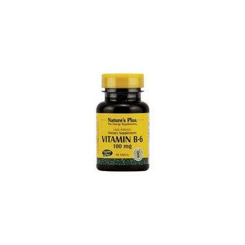 Nature's Plus - Vitamin B-6, 100 mg, 90 tablets