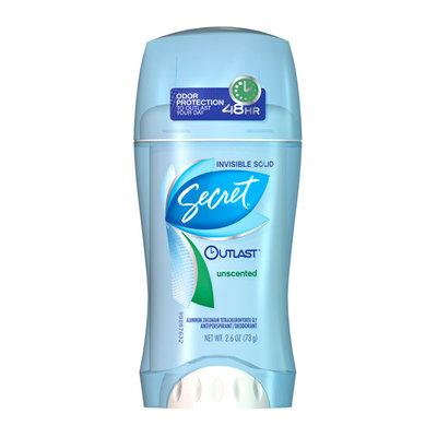 Secret Outlast Unscented Antiperspirant/Deodorant
