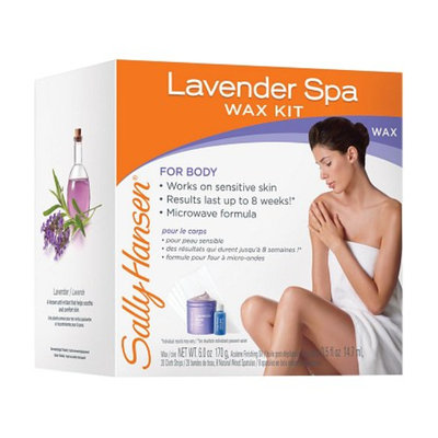 Sally Hansen Spa Body Wax Hair Removal Kit