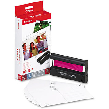 Canon Replacement Color Ink Cartridge and Paper Kit - KP-36IP