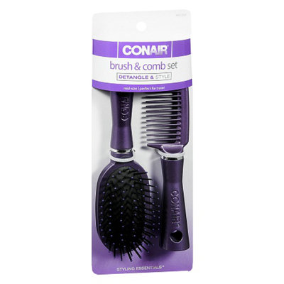 Conair Brush and Comb Set