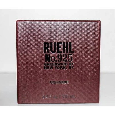 Ruehl No 925 Cologne Spray for Men 3.4 Oz / 100 Ml, Discontinued Scent and Hard to Find