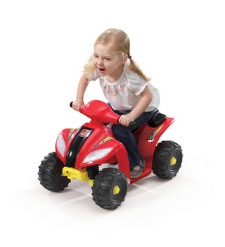 Fun Wheels Step 2 6V Red Mini Quad Battery Operated Ride On