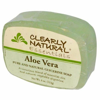 Clearly Naturals Clearly Natural Glycerine Bar Soap Aloe Vera 4 oz