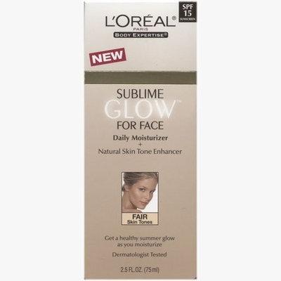 L'Oréal Paris Glow Face Moist + Skin Tone Enhancer Spf 15 Fair