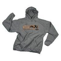 Comfort Colors Indianapolis Motor Speedway Men's Fleece Hoodie, Hooded Sweatshirt, Vintage Logo, Gray