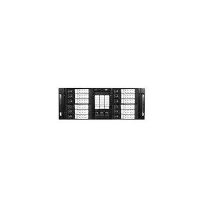 ISTARUSA iStarUSA D410-DE15SL 4U 10-Bay Stylish Storage Server Rackmount 15 x 3. 5 inch Trayless Hotswap Chassis, Silver