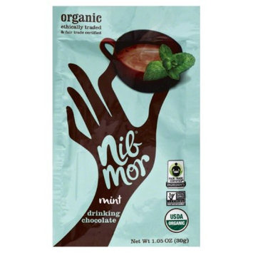 Nibmor Drinking Chocolate Mix Mint 1.05 Ounce -Pack of 6