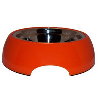 ModaPet Steel Pupaya Dog Bowl for Medium to Large Dogs, 5 Cups