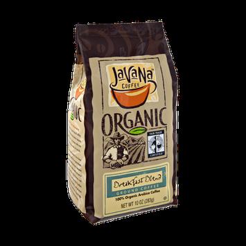 JavaNa Coffee Organic Breakfast Blend Ground Coffee