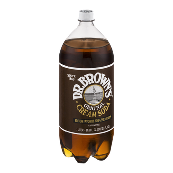 Dr. Brown's Original Cream Soda Caffeine Free