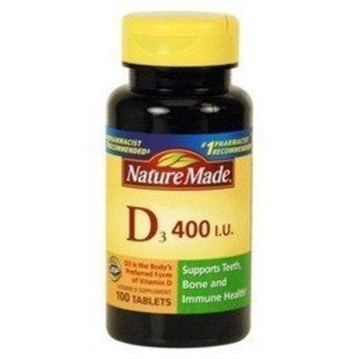 Nature Made Vitamin D3 400 I.u