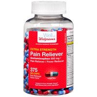 Walgreens Pain Reliever Extra Strength Gelcaps, 375 ea