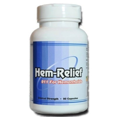 Western Herbal And Nutrition Hem-Relief for Hemorrhoids (Clinical Strength 90 Capsules)